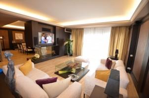Apartament penthouse de inchiriat 5 camere zona Herastrau-Parc Bordei, Bucuresti 350 mp
