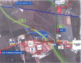 Teren de vanzare Ploiesti Logistic Park, 49 ha