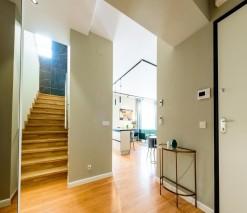Apartament tip duplex de inchiriat 4 camere zona Domenii-Expozitiei, Bucuresti 190 mp