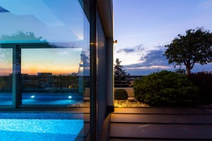 Penthouse with swimming pool for sale Primaverii area, Bucharest 721 sqm
