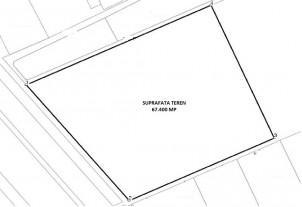 Urban land plot for sale Ploiesti, Prahova county 67.400 sqm