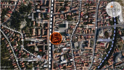 Cladire de vanzare, zona ultracentrala, Cluj, 1470 mp si  gradina 2200 mp
