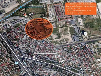 Teren de vanzare Bucuresti Bulevardul Expozitiei 14.548 mp