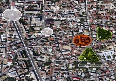 Teren de vanzare Bucuresti zona Piata Romana 606,62 mp