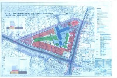 Teren de vanzare Bucuresti zona Piata Victoriei 963 mp
