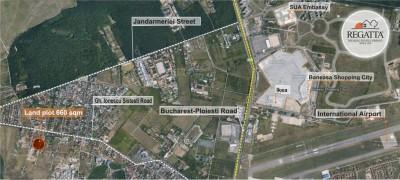 Teren de vanzare Bucuresti zona de Nord 660 mp