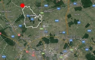 Teren de vanzare Ilfov zona Corbeanca 50 ha