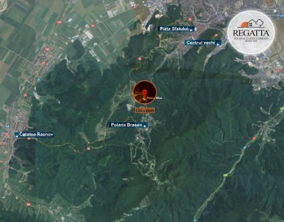 Land plot for sale Poiana Mica, Brasov county, 27,398 sqm
