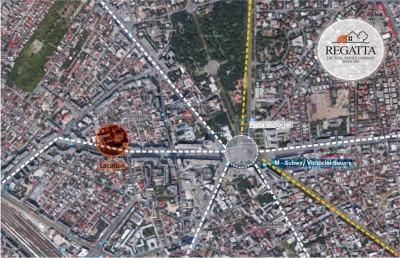 Teren de vanzare zona Piata Victoriei, Bucuresti, 233 mp
