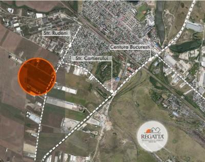 Teren de vanzare zona Chitila, Bucuresti 40.000 mp