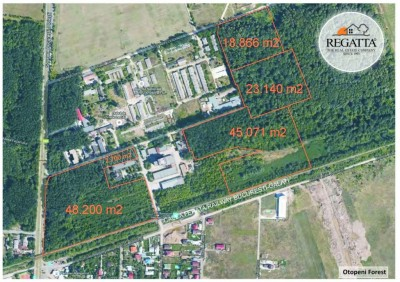 Terenuri silvice de vanzare, zona de Nord, Bucuresti, 16 ha