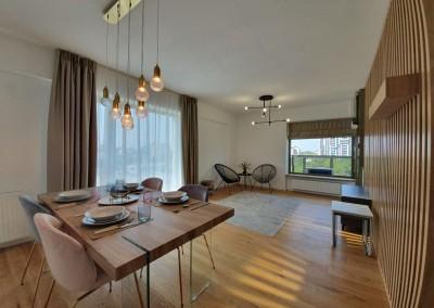 Apartament de inchiriat 2 camere zona Aviatiei 71 mp