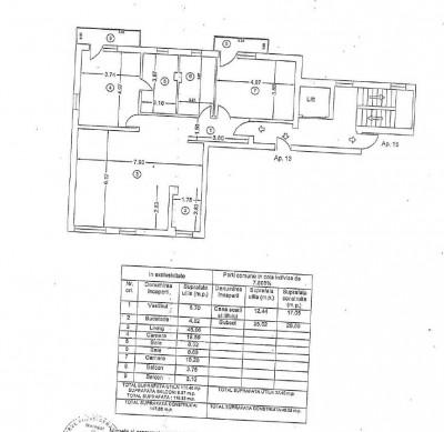 Apartament de inchiriat 3 camere zona Casa Presei Libere-Herastrau, Bucuresti