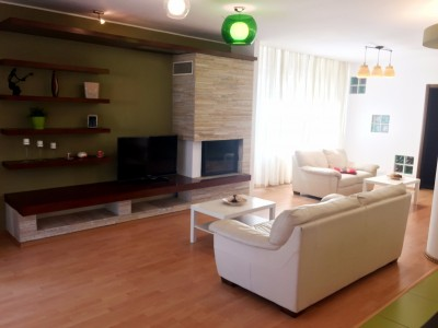 Apartment for rent 5 rooms Floreasca area, Bucharest 200 sqm