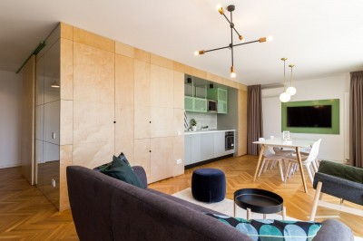 Apartment for rent 4 rooms Victoriei Square, Bucharest 98 sqm