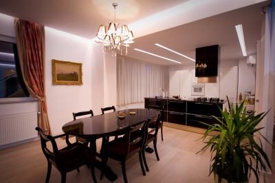 Apartament de inchiriat 7 camere tip penthouse zona Primaverii, Bucuresti 300 mp