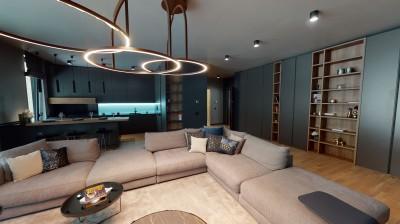 Apartament de vanzare 3 camere cu gradina in Parcul Verdi, Bucuresti 173.7 mp