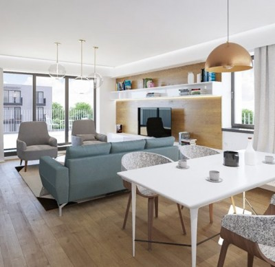 Apartament de vanzare 3 camere zona Polona 92.74 mp