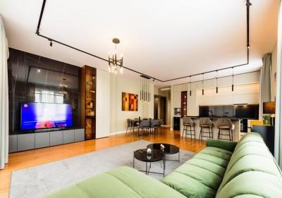 Apartment for rent duplex type 4 rooms Domenii-Expozitiei area, Bucharest 190 sqm