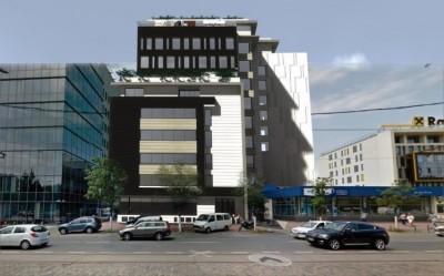 Imobil birouri de vanzare zona Barbu Vacarescu, Bucuresti 10.509 mp