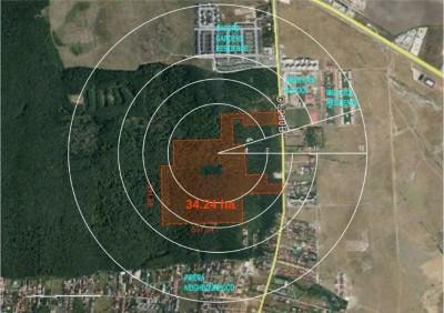Padure de vanzare pretabila Parc de Agrement, zona Iancu Nicolae - Padurea Baneasa, Bucuresti 342.400 mp