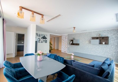 Penthouse for rent 4 rooms Herastrau - Nordului area, Bucharest 150 sqm