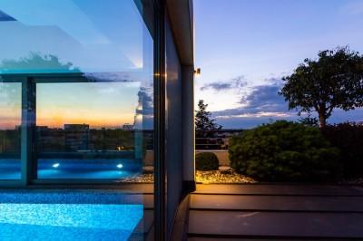 Penthouse cu piscina de vanzare zona Primaverii, Bucuresti 721 mp