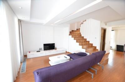 Penthouse de inchiriat 3 camere zona Primaverii, Bucuresti 170 mp