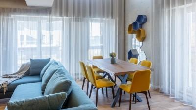 Penthouse de vanzare 3 camere zona Barbu Vacarescu, Bucuresti 115 mp