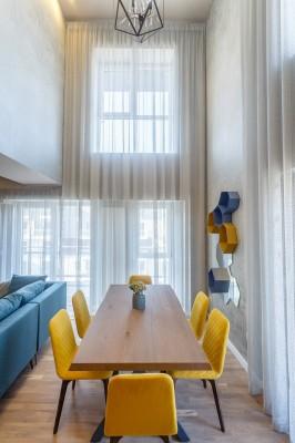 Penthouse de vanzare 3 camere zona Barbu Vacarescu, Bucuresti 123 mp
