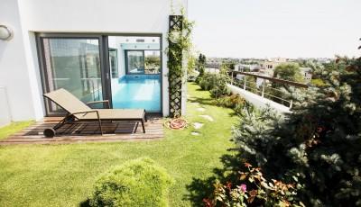 Penthouse de vanzare 5 camere zona Primaverii, Bucuresti 721 mp