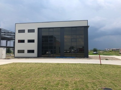Industrial spaces with offices for rent South area- Magurele, Bucharest 1460 sqm