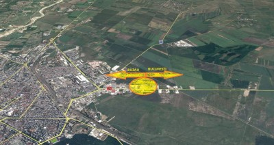 Industrial spaces for sale Buzau area, Buzau county 4068 sqm