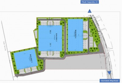 Logistic spaces for rent Chitila area, Bucharest 13,000 sqm