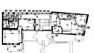 Spatiu comercial de inchiriat zona Gradina Icoanei 177.53 mp