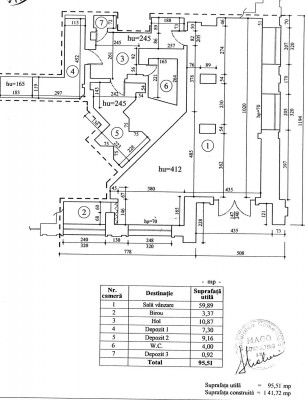 Spatiu comercial de vanzare zona Piata Natiunile Unite, Bucuresti 134.16 mp