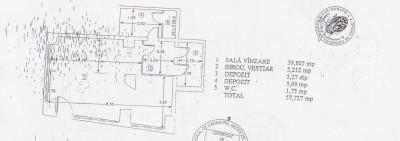 Spatiu comercial de inchiriat zona Piata Romana - Magheru, Bucuresti 116 mp