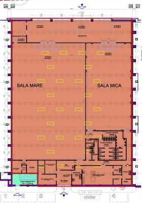 Spatiu comercial de inchiriat zona Pipera, Bucuresti 1179.80 mp