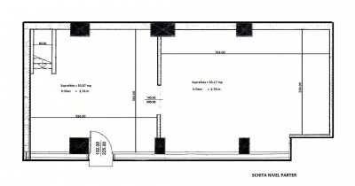 Spatiu comercial de inchiriat zona Sala Palatului, Bucuresti 150 mp