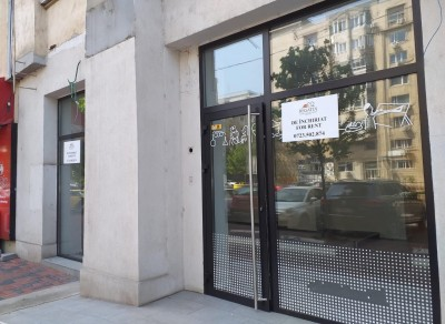 Commercial space for rent Unirii - Octavia Goga area, Bucharest 96 sqm