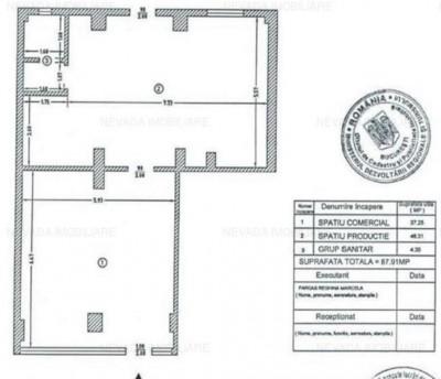 Commercial space for sale Berceni - Aparatorii Patriei, Bucharest 88 sqm