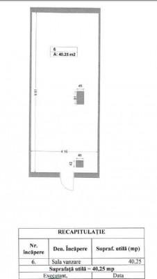 Spatiu comercial de vanzare zona Giurgiului, Bucuresti 40.25 mp