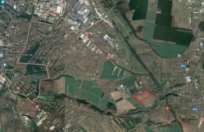 Land plot for sale Craiova, Dolj county 122.000 sqm