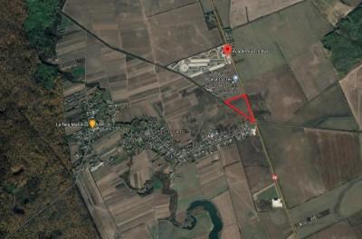 Teren de vanzare Crevedia - DN1A - 10.000 mp