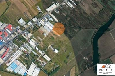 Teren de vanzare zona Afumati, judetul Ilfov 5.500 mp
