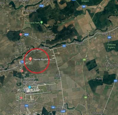 Teren de vanzare zona Balotesti, judetul Ilfov 13.500 mp