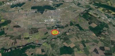 Teren de vanzare zona Balotesti, judetul Ilfov 34.400 mp