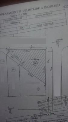Teren de vanzare zona Baneasa-Sisesti, Bucuresti 500mp