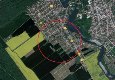 Teren de vanzare zona Buftea, Ilfov 2500 mp