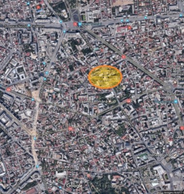 Land for sale Calea Victoriei area, Bucharest, 800 sqm
